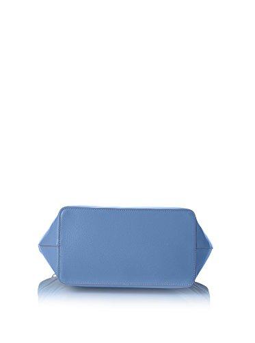 Trussardi Jeans by Trussardi Borsa A Mano Blu Royal