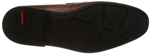 Rockport Style Connected Penny, Mocasines para Hombre Brown (brown Leather)