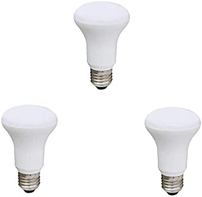 BOMBILLA LED R63 220-240V 8W E27 6400K 3 (Pack): Amazon.es: Iluminación