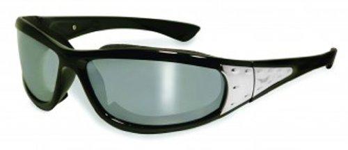 Global Vision Eyewear Viva Sunglasses, Flash Mirror - Sunglasses Covered Side