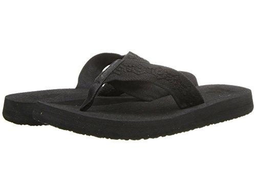 Reef Women's Sandy Flip-Flop (7 M US, Black/Black)