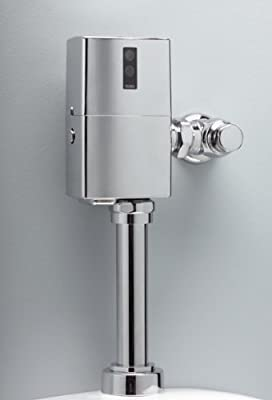 Toto TET6LN#CP EcoPower Toilet Flushometer Valve Only - 1.28-GPF, 24-Inch V.B, Polished Chrome