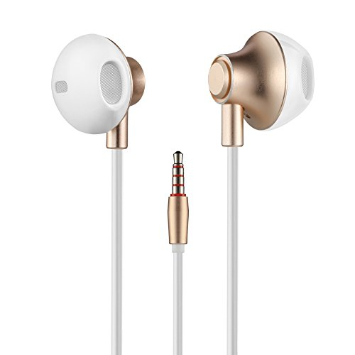 Wired in-Ear Earbuds, Acode 3.5mm Metal Housing Earphones He