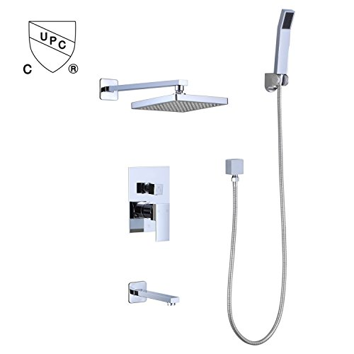 Wall Mounted Thermostatic Mixer - 4