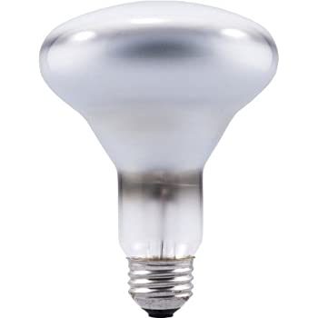 sylvania br30 65w dimmable indoor flood light bulbs soft white 24 pack