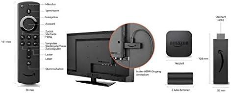 Amazon Fire TV Stick 4K mit Neuer Alexa-Sprachfernbedienung: Amazon.es