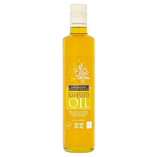 Farringtons Mellow Yellow Rapeseed Oil (500ml)