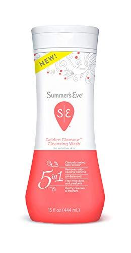 Summer's Eve Cleansing Wash, Golden Glamour, 15 oz