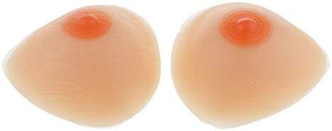 Dailymall Areola Triangular Breast Forms Fake Boobs Enhancer Crossdresser Inserciones de sujetador