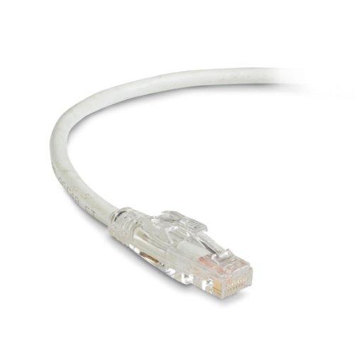 UTP 7-ft. Black Box GigaTrue 3 CAT6 550-MHz Lockable Patch Cable - White 2.1-m
