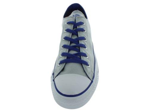 Converse Chuck Taylor All Star Ox Scarpe Da Basket Grigio / Blu