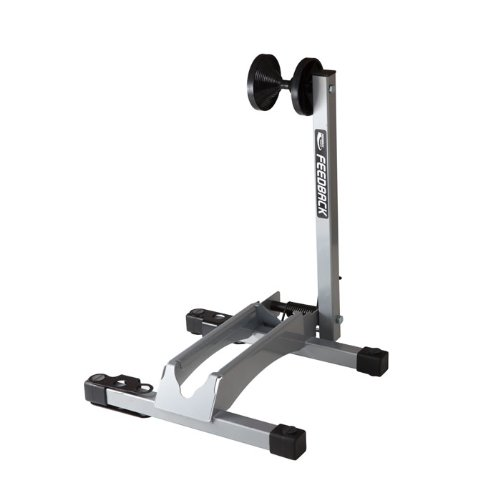 Feedback Sports Bicycle Storage Stand (Silver) by Feedback Sports