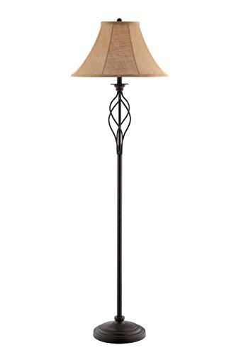 "Stein World 99801 Gaston Metal Floor Lamp, 19"" x 19"" x 61"", Rusted Bronze"