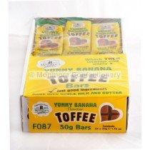 Caminantes Nonsuch Sabroso Plátano Barritas de Caramelo 50g (Pack de 24): Amazon.es: Alimentación y bebidas