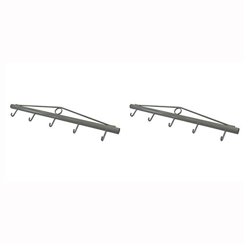 RanchEx 102574 Woven Wire Fencing Stretcher Bar Tensioning Tool with Hooks, Gray (2 ()
