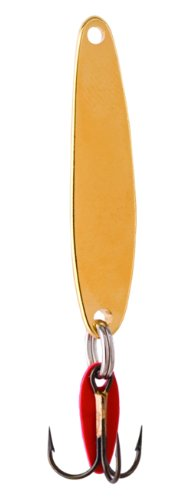 Bay De Noc 4G 1-3/4-Inch Swedish Pimple Jig, 1/4-Ounce, Gold