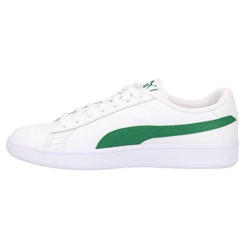 Puma Unisex Adulto Smash V2 L Sneaker Bianco (puma Bianco-amazon Verde 03)