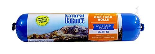 Natural Balance Dog Food Roll, Duck & Turkey Formula, 3.5-Pound