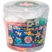 Perler Beads Glow in the Dark Activity Bucket