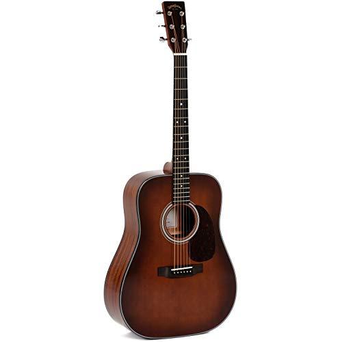 Sigma Guitars DM-1ST-BR+ dreadnought - Guitarra acústica, color ...
