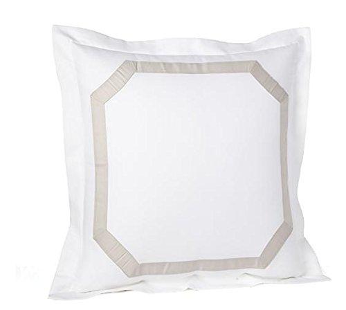 Mink Euro Sham - Ralph Lauren's Suite Framed Pique Euro Sham Mink