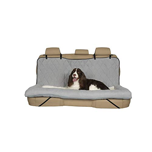 - PetSafe Solvit 62455 Car Cuddler, Large, Grey