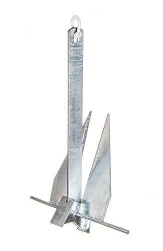 SEACHOICE Hot Dipped Galvanized Deluxe Anchor 8S 41720