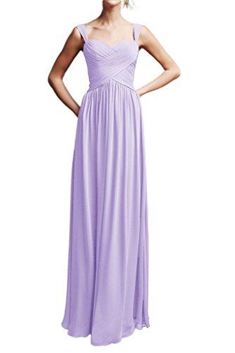 Missdressy -  Vestito  - linea ad a - Donna Lavanda 44
