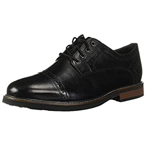 Nunn Bush Men's Overland Cap Toe Oxford with Comfortable KORE Lightweight Walking Technology