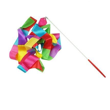 - Ymkf Sqqr 6.5-Foot Long Satin Color Dancing Ribbon Streamer Rhythm Ribbon Set Pack of 10
