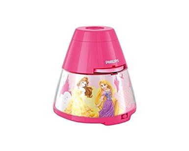 Philips Proyector y luz Nocturna 2 en 1 717692816, 5 W, Rosa