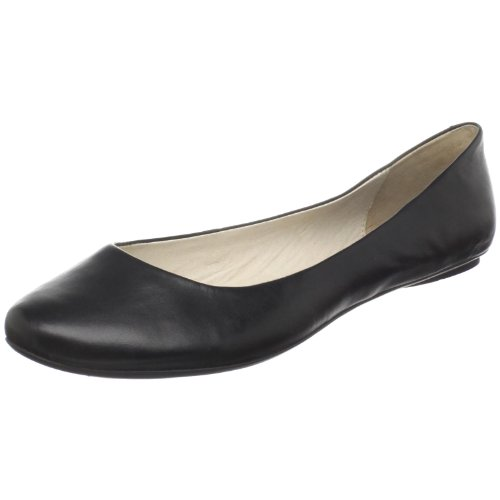 Kenneth Cole REACTION Women's Slip On By Ballet Flat,Black,9.5 M US
