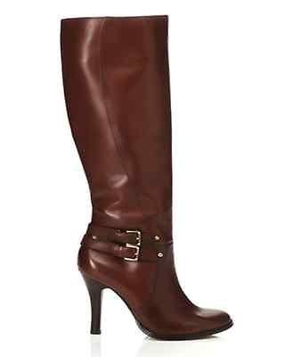 Arturo Chiang Women's Umbria Cognac Leather Boot Size 8.5