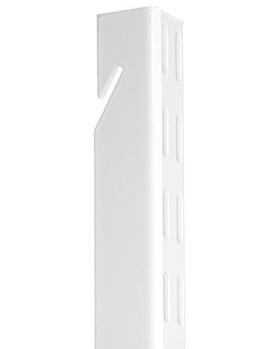 Organized Living freedomRail Upright for freedomRail Closet System, 48-inch - White
