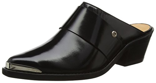 Shoes Hundred Negro Won 7515 Mujer Black Zueco 5Hfqw8qx