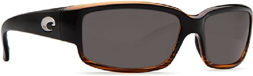 Costa Del Mar Caballito Sunglasses, Coconut Fade, Gray 580P Lens by Costa Del Mar