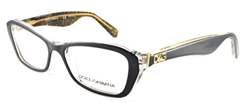 Dolce e Gabbana DG 3168F 2737 Eyeglasses Black/Glitter - And Gabbana Dolce Buy