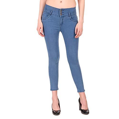Girls Clubs Women's Stylish Slim Fit Denim Jeans