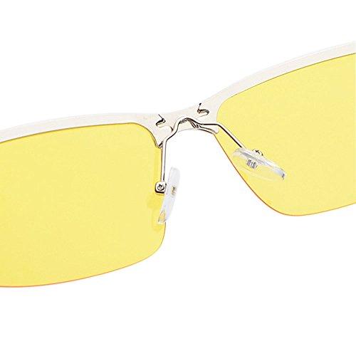 pour conduire sécurité nuit nuit Gold nuit conduite polarisée réduisant pour pêche de de hd antireflet OGOBVCK de le conduite risque sécurita vision meilleure de lunettes de la lunettes de façon des FRnxwO7qA