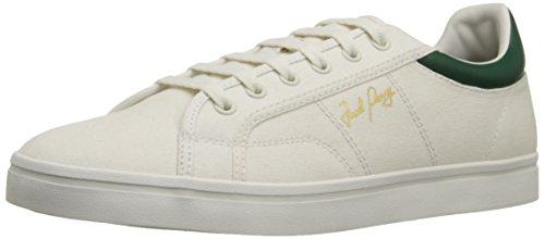 Fred Perry Heren Sidespin Canvas Mode Sneaker Porselein / Klimop