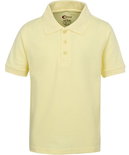 Yellow Uniform (Boys Uniform Polo Shirt Yellow M 10/12)