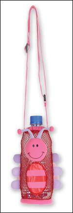 Stephen Joseph Ladybug Buddy Drink Bottle Holder Carry (Children's Place Butterfly Costume)