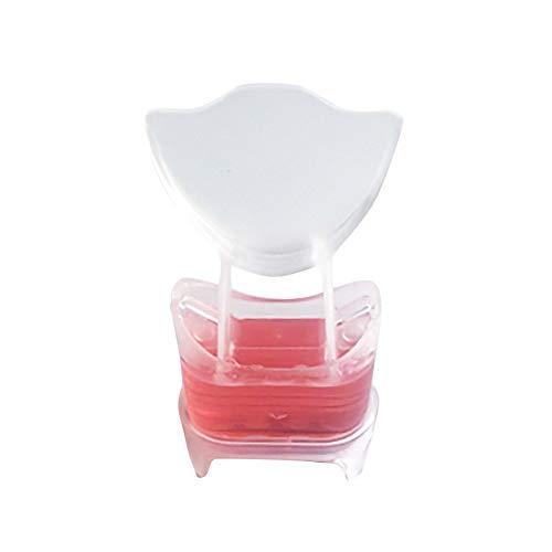 TINIX - Limpiador de inodoro de la mejor calidad – Limpiador de gel con forma de flor – Detergente para inodoro y baño...