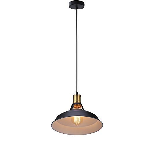 Country barn style kitchen light fixtures amazon b right vintage metal pendant light hanging ceiling light dia 11 inch mozeypictures Images