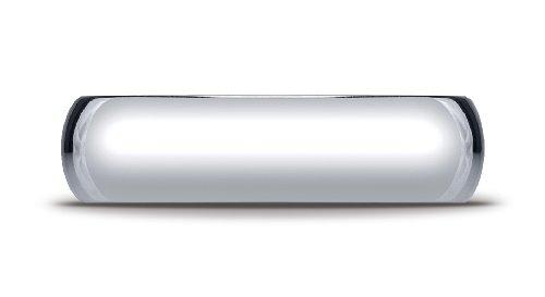 Mens-10K-White-Gold-6mm-Slightly-Domed-Standard-Comfort-Fit-Ring
