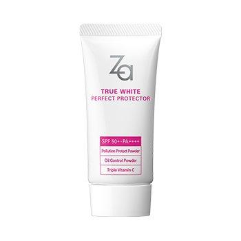 Za True White Ex Perfect Protector Sunscreen Cream SPF 50+ PA++++ 30 - Za Sun