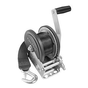 Fulton 1500lb Single Speed Winch W/2039; Strap & Cover