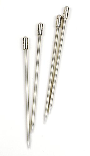 RSVP Endurance 18/8 Stainless Steel Cocktail and Appetizer Pick, Set of 16