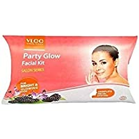 VLCC Natural Sciences Party Glow Facial Kit 60g with free White and Bright Glow Gel Creme 20g