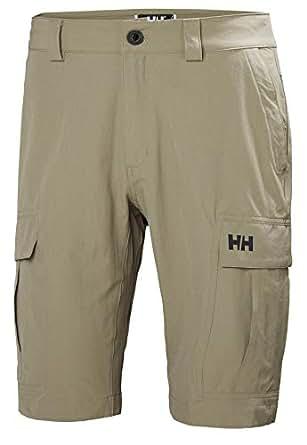 Helly Hansen Men's HH Cargo II Quick Dry Stretch Outdoor Shorts, 720 Fallen Rock, Size 28